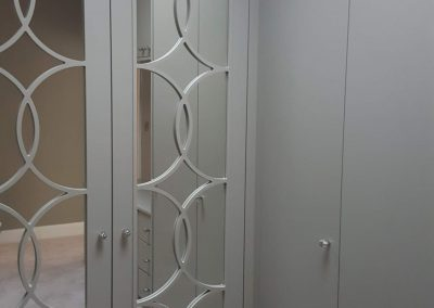 Wardrobe mirror doors