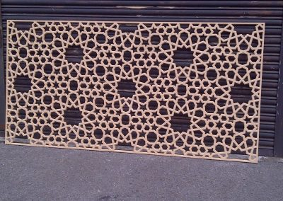 Islamic Screen CNC 03