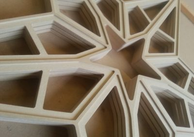 Large Star Fretwork Panel
