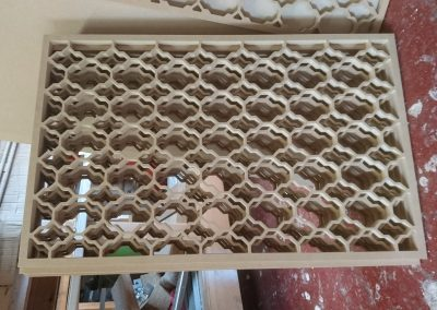 Marrakesh fretwork panel close up 2