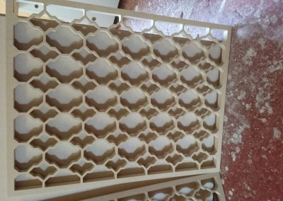 Marrakesh fretwork panel close up