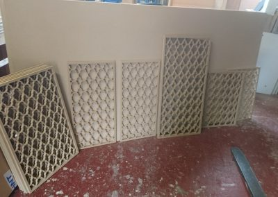 Marrakesh fretwork panels