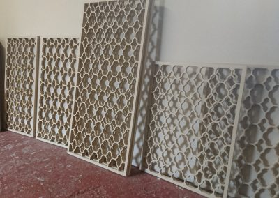 Marrakesh fretwork panels view 3