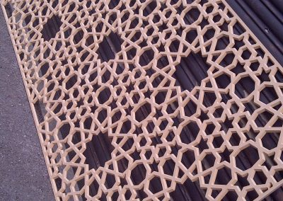 Moroccan Star Fretwork Panel
