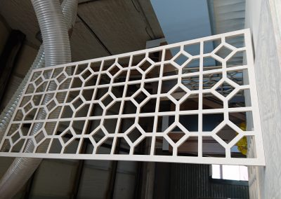 Square & Octagon fretwork panel