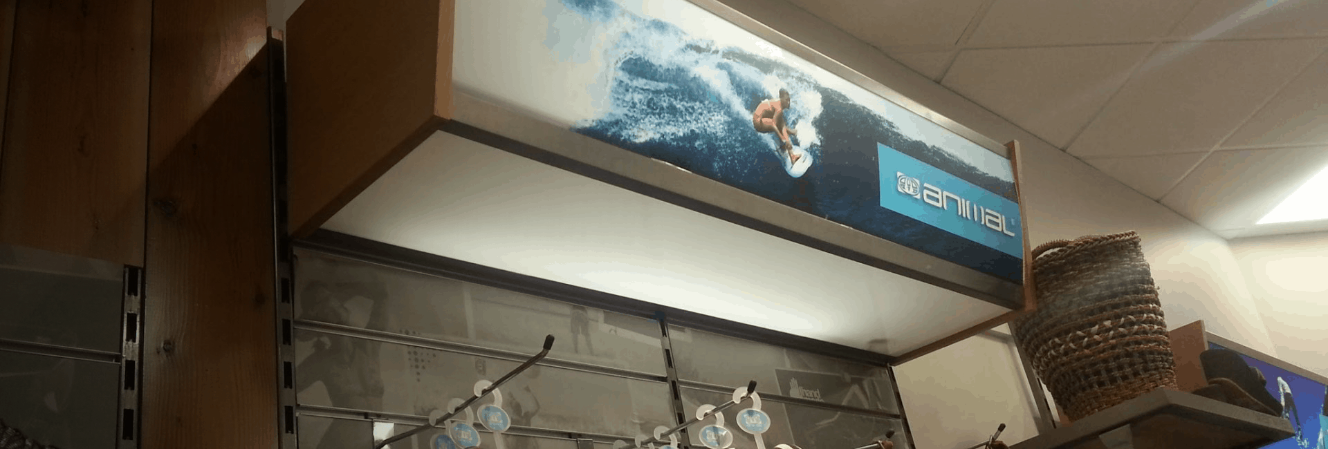 Shoplifting in a surf retailer