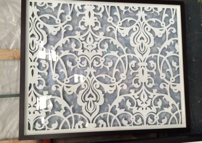 Victorian Framed Fretwork Panels packaged