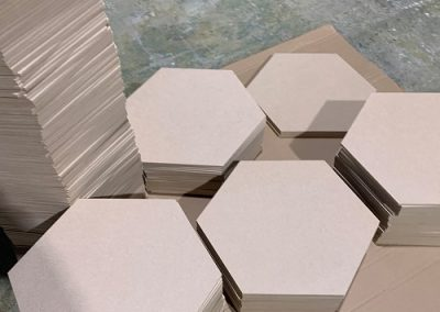 MDF Hexagonal pieces